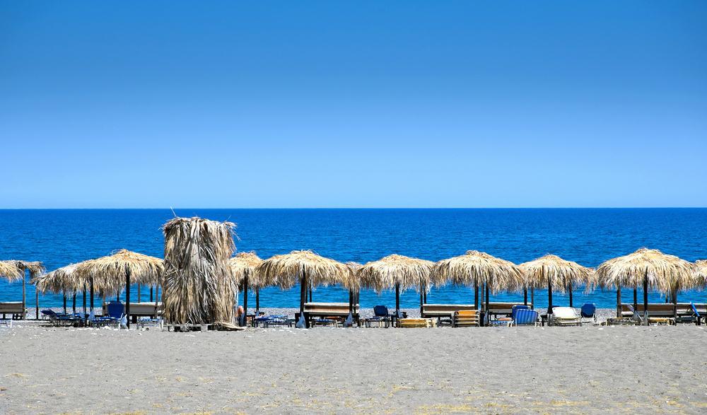 Strand - Rhodos i Grækenland
