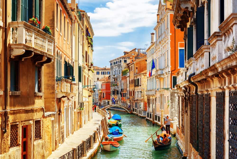 Rio Marin Canal - Venedig i Italien