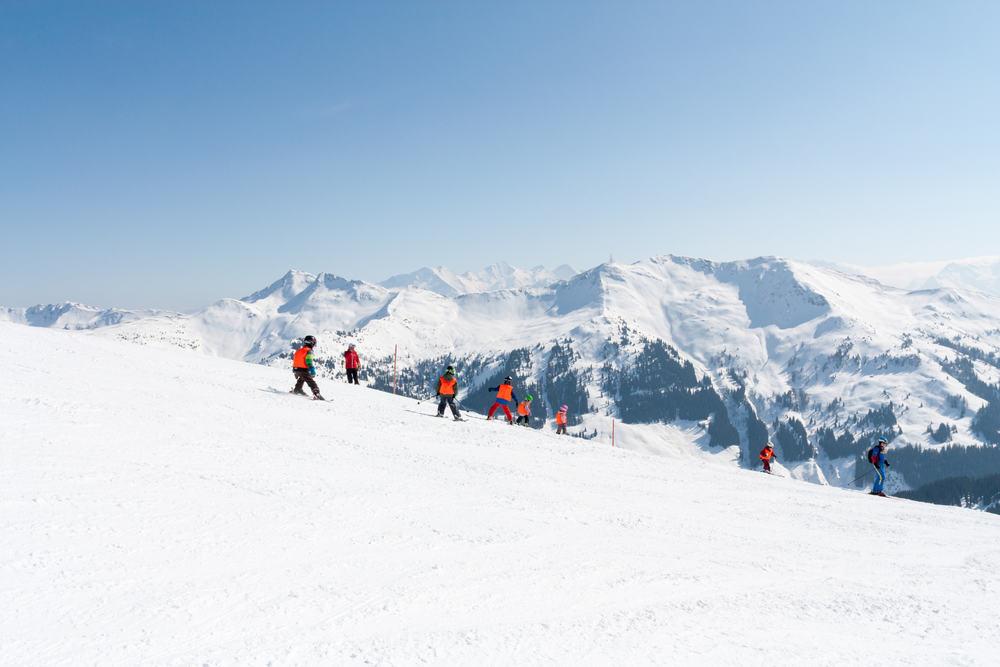 Skiferie i Saalbach i Østrig