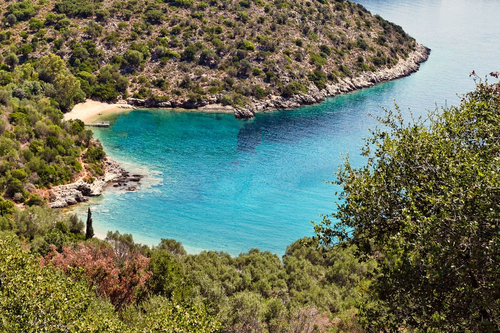 Sarakiniko - Ithaca i Grækenland