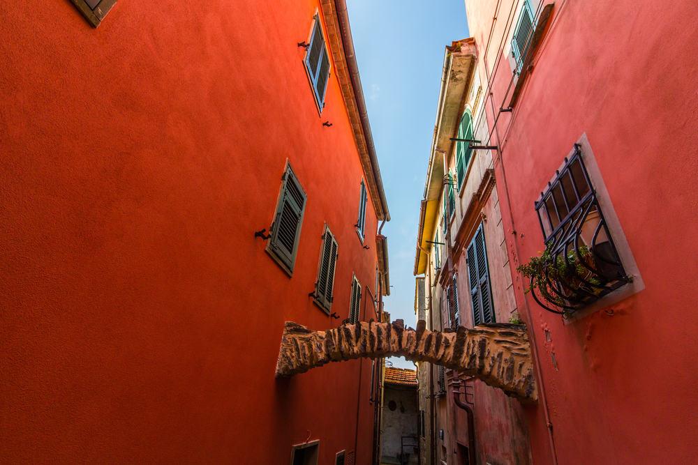 Cinque Terre i Ligurien i Italien