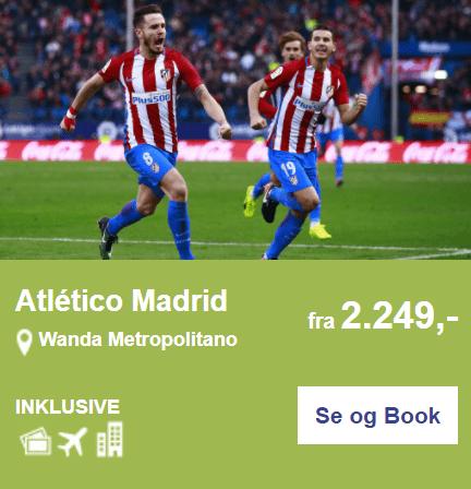 Atlético Madrid på Wanda Metropolitano