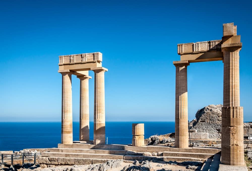 Lindos - Rhodos i Grækenland
