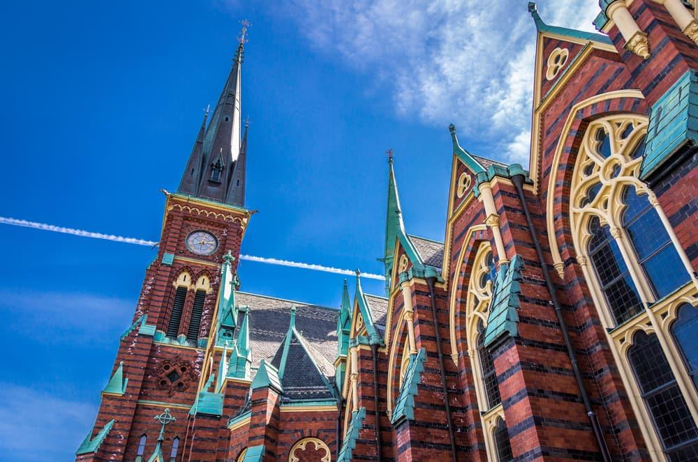 Oscar Fredrik kirken - Göteborg i Sverige