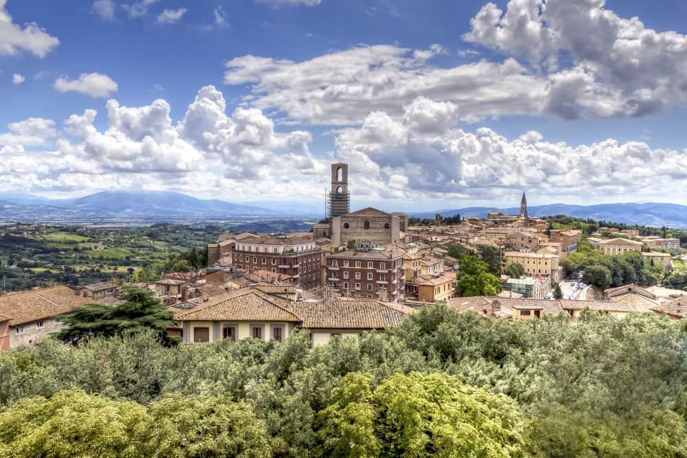 Perugia - Umbrien i Italien