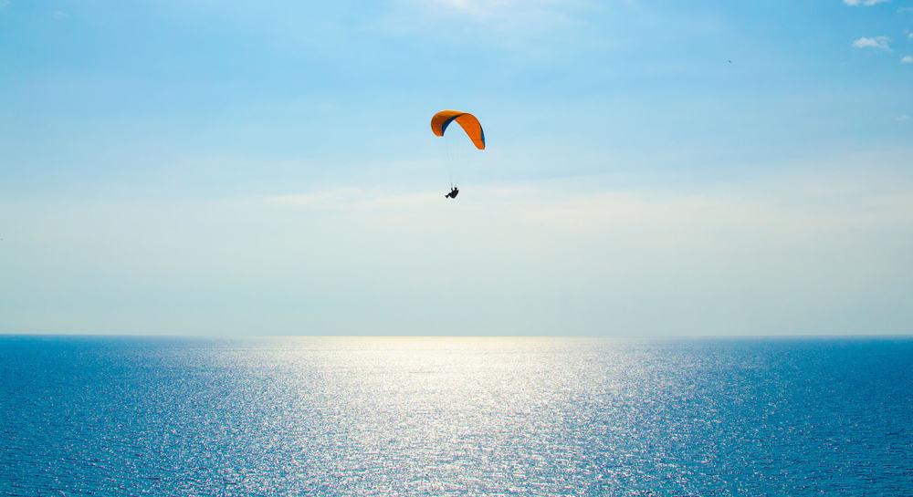 Paraglider - Costa del Sol i Spanien