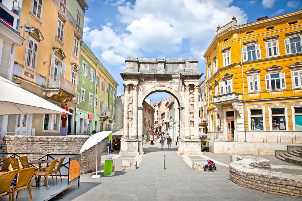 Pula i Kroatien