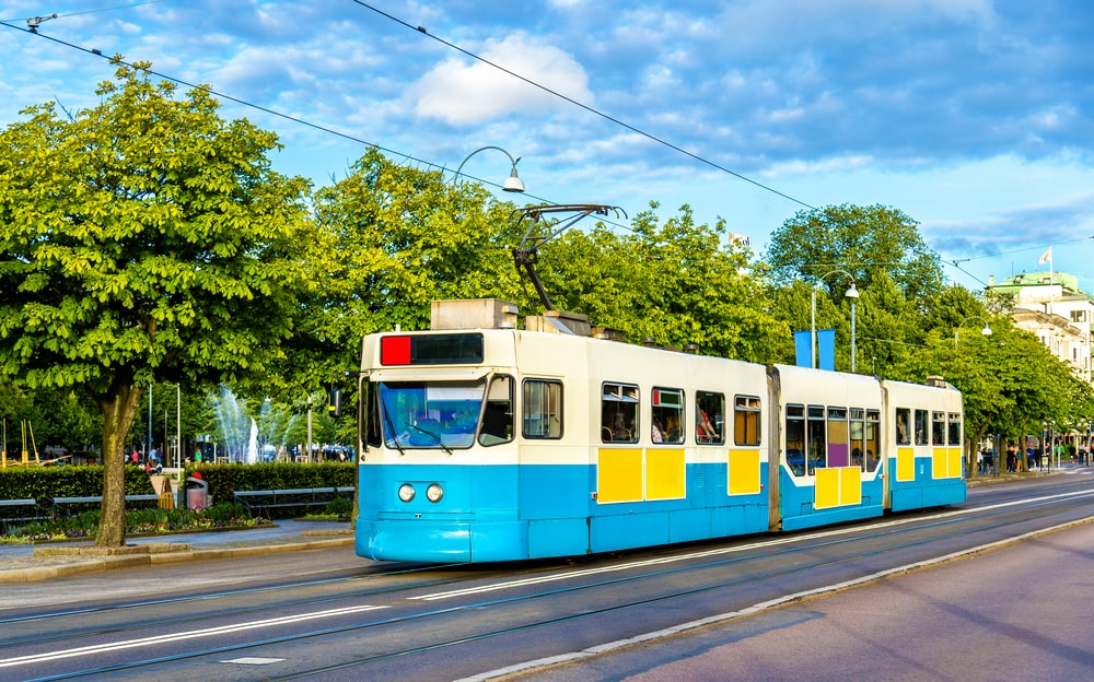 Sporvogn i Göteborg i Sverige