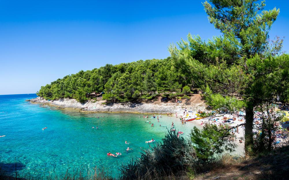 Strand i Pula - Kroatien