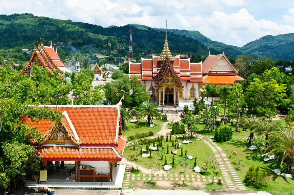 Wat Chalong- Phuket i Thailand