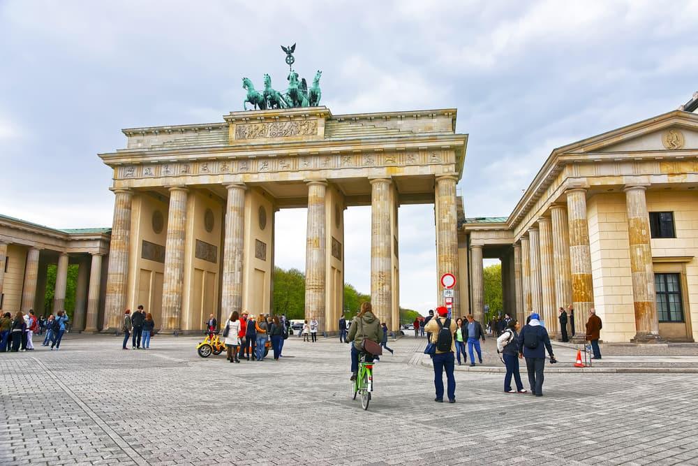 Brandenburger Tor - Berlin i Tyskland