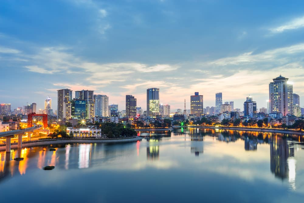 Hanoi i Vietnam