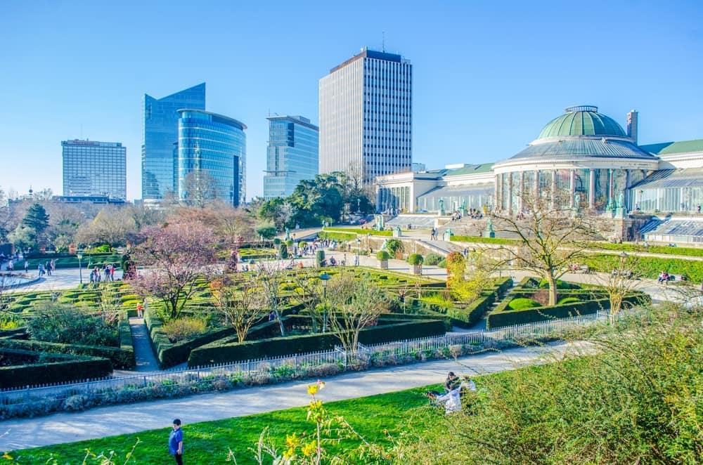 Jardin Botanique - Bruxelles i Belgien
