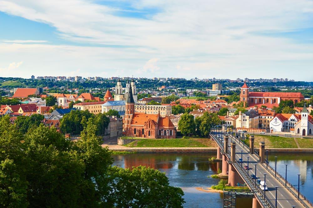 Kaunas i Litauen