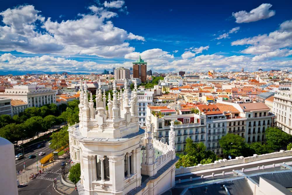 storbyferie i Madrid