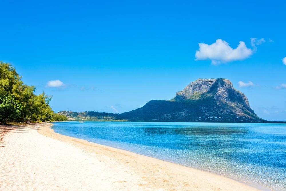 Palmestrand - Mauritius i Det Indiske Ocean