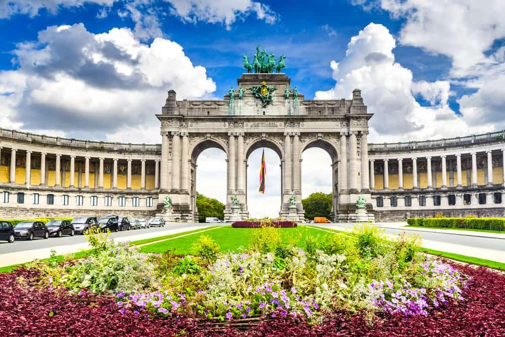 Parc du Cinquantenaire - Bruxelles i Belgien