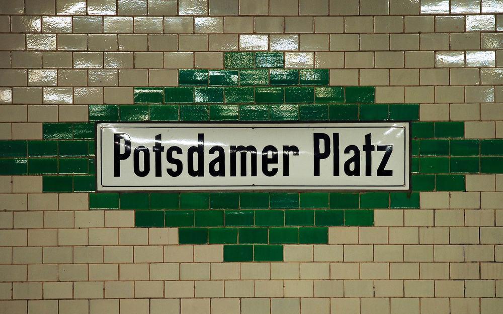 Potsdamer Platz - Berlin i Tyskland