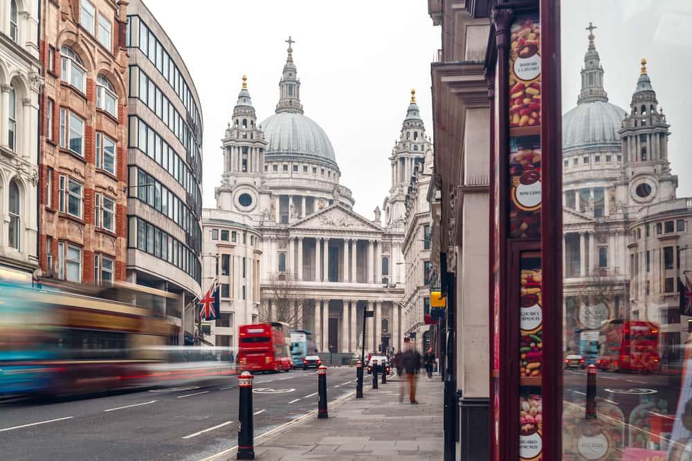 Sain Pauls Cathedral - London i England