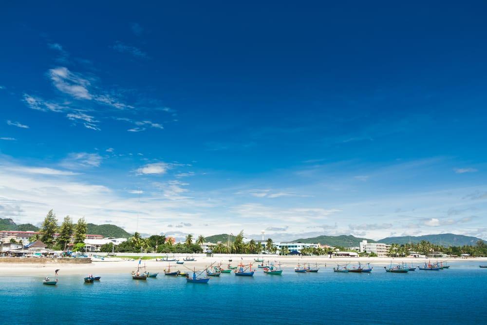 Strand - Hua Hin i Thailand