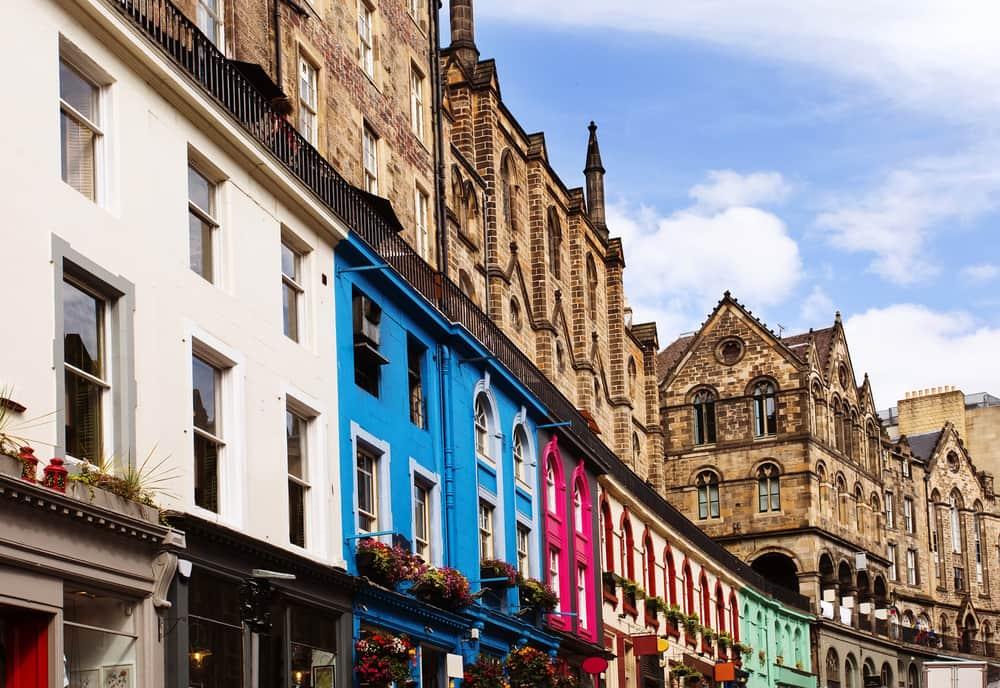 Victoria Street - Edinburgh i Skotland