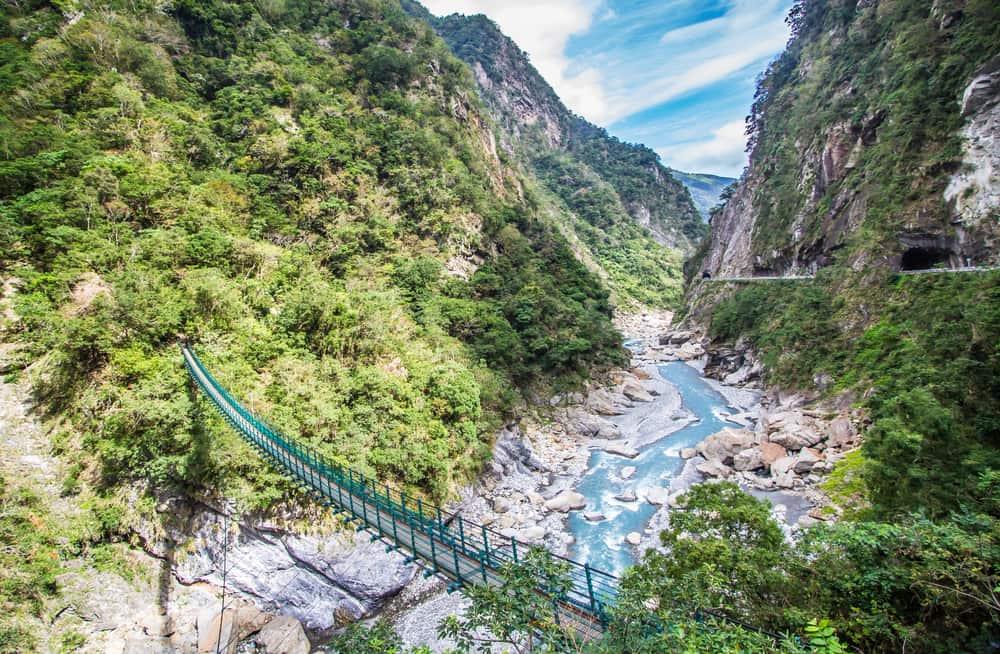Taroko i Taiwan