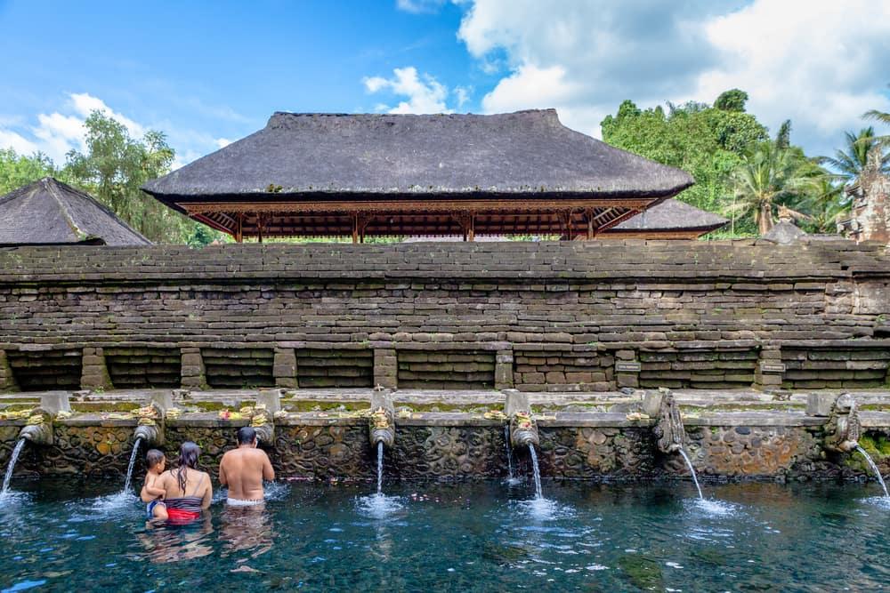 Tirta Empul - Bali i Indonesien