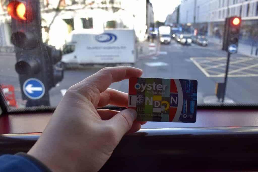 Oyster Card - Turist i London
