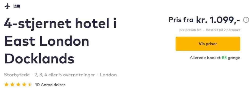 Miniferie i London med TravelBird
