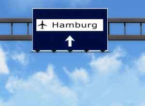 Flyv fra tysk lufthavn
