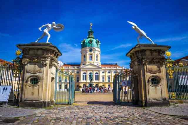 Charlottenburg paladset i Berlin