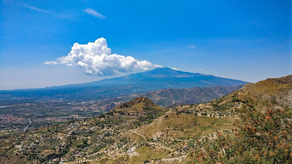 Etna på Sicilien