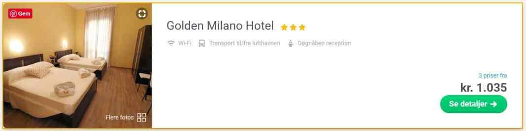 Golden Milano Hotel - Italien