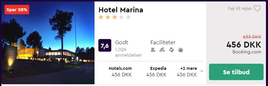 Hotel Marina i Grenå