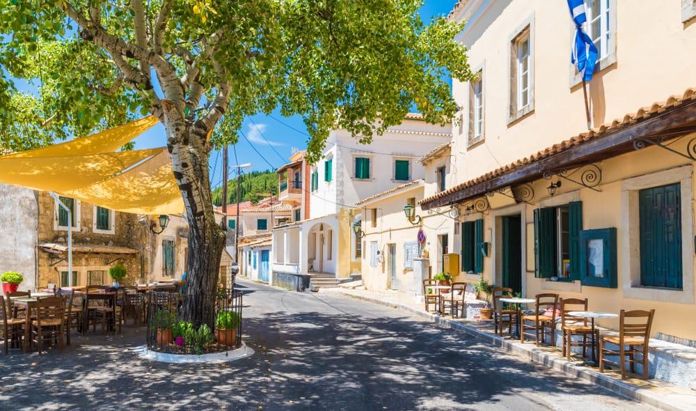 Lakones - Korfu i Grækenland
