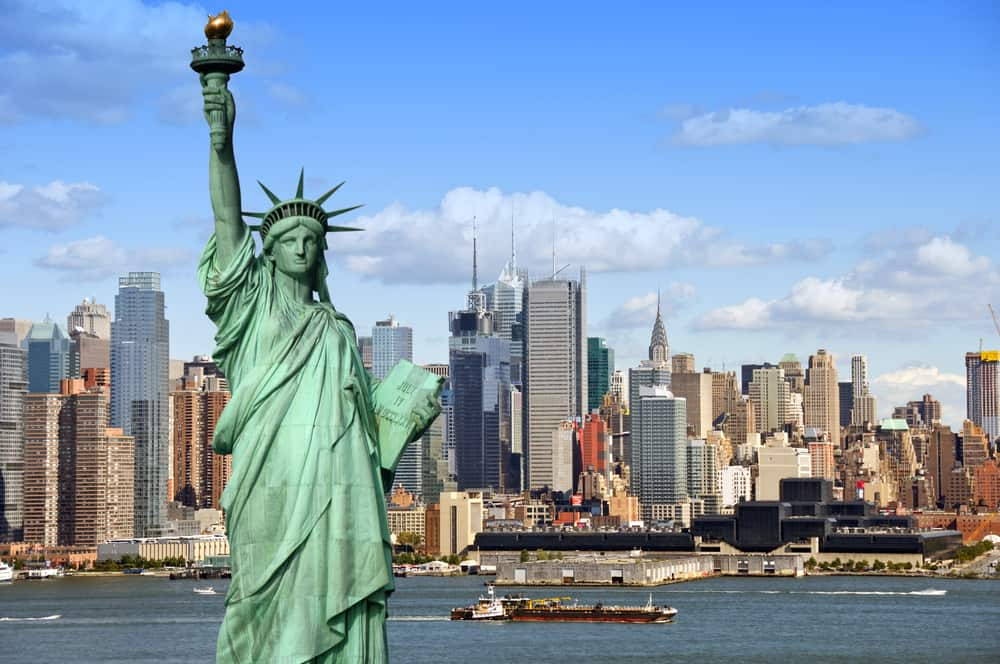 New York City i USA