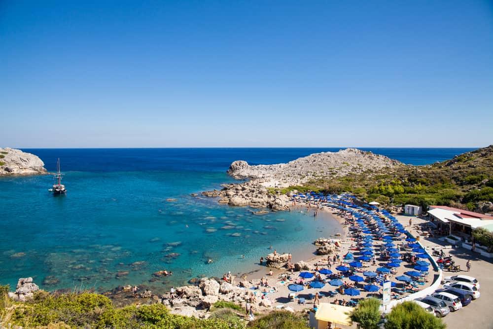 Faliraki - Rhodos i Grækenland