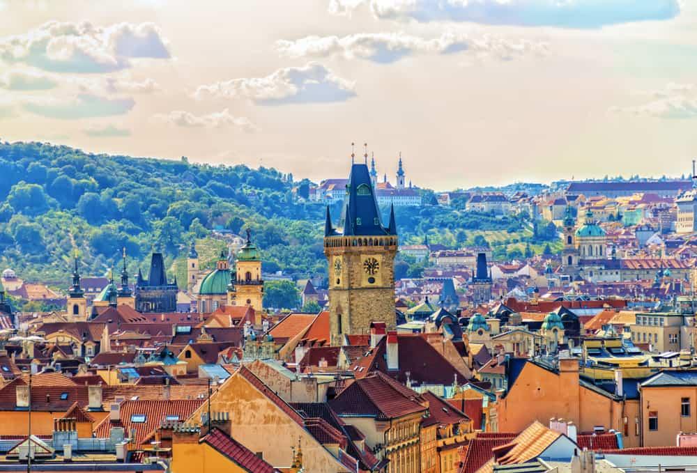 Panoram - Prag i Tjekkiet
