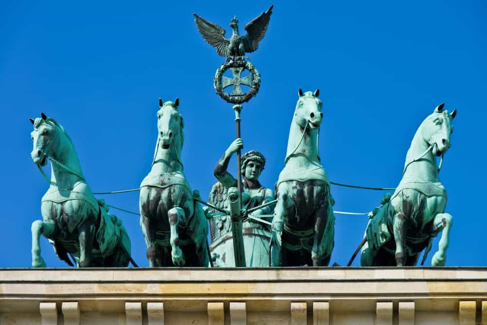 Quadrigaen på Brandenburger Tor