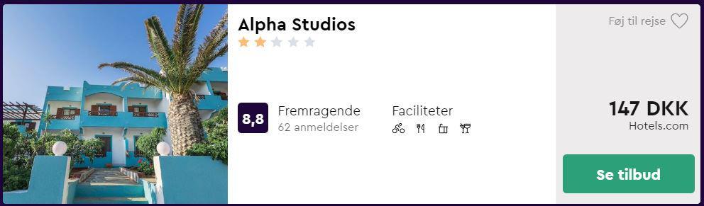 Alpha Studios - Karpathos i Grækenland