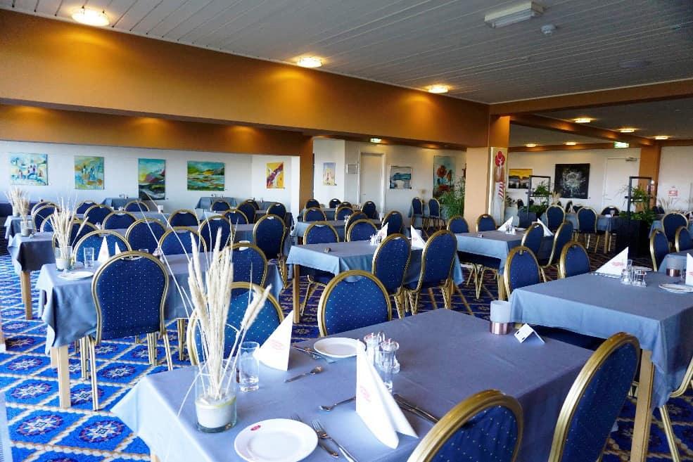 Restauranten på Hotel Marina i Grenaa
