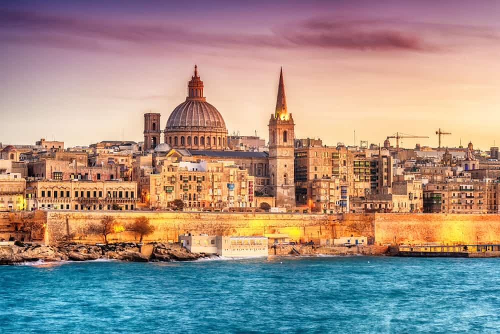 Valletta i Malta