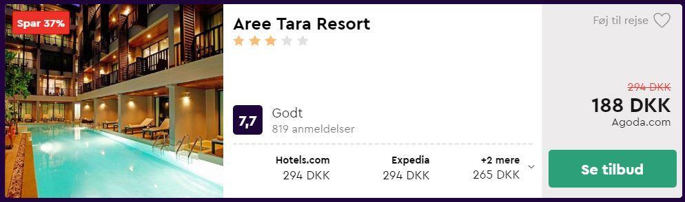 Aree Tara Resort - Krabi i Thailand
