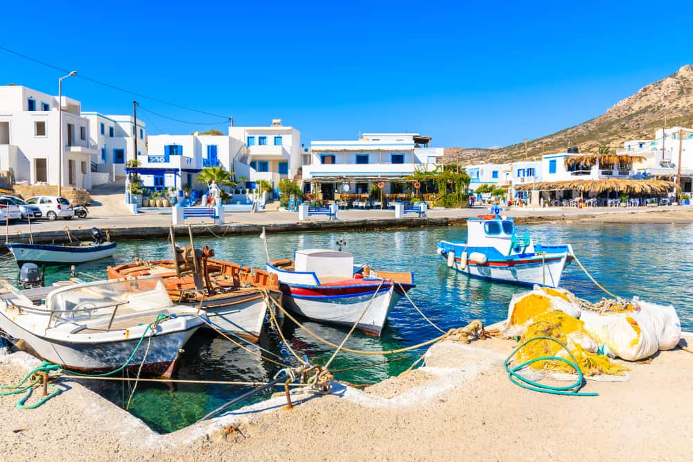 Finiki havn - Karpathos i Grækenland