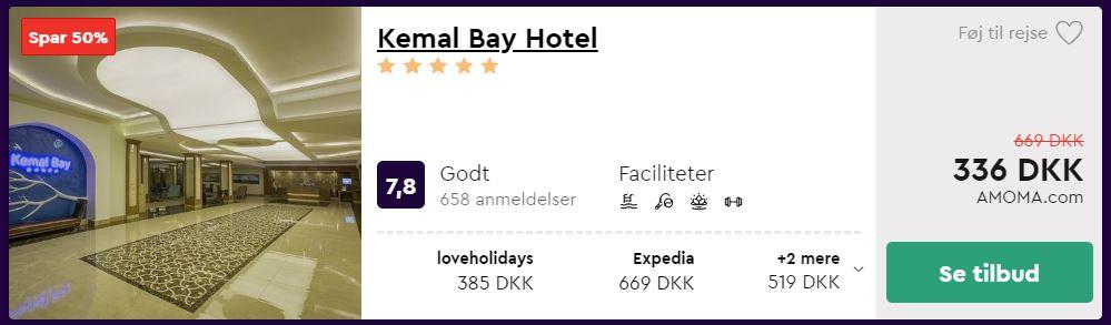 Kemal Bay Hotel - Alanya i Tyrkiet