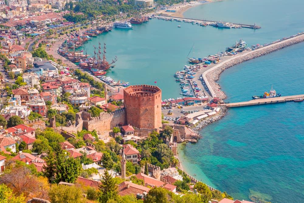 Kizil Kule - Alanya i Tyrkiet