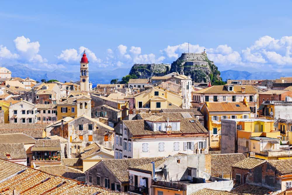 Korfu by - Grækenland
