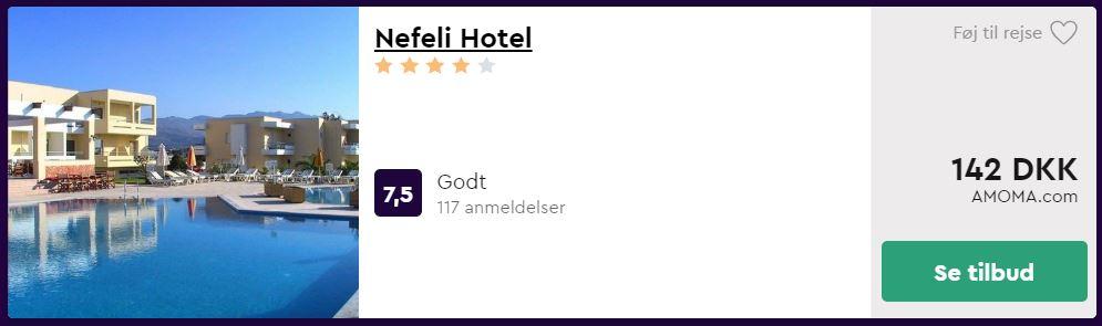 Nefeli Hotel - Kos i Grækenland