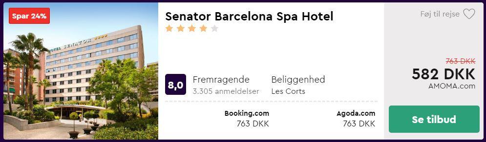Senator Barcelona Spa Hotel - Spanien