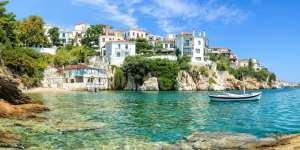 Skiathos i Grækenland